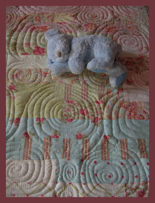 Jelly roll quilting