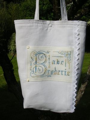 Sac broderie re