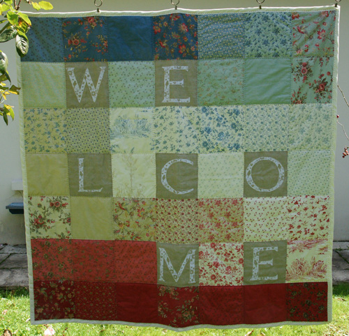 Quilt welcome 3
