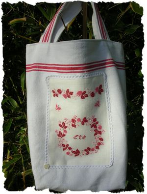 Broderie rouge