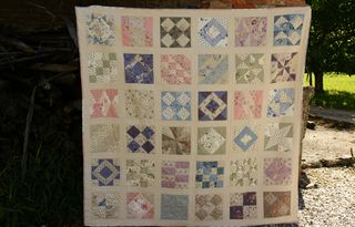 Making a quilt 3