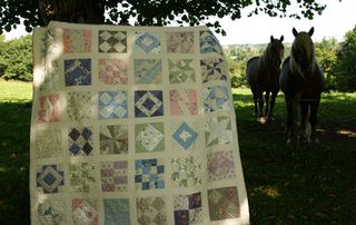 Making a quilt 1