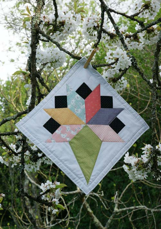 Mini quilt kite ruler