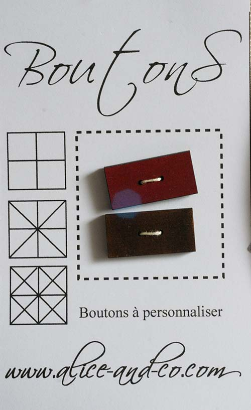Bouton rouge 3