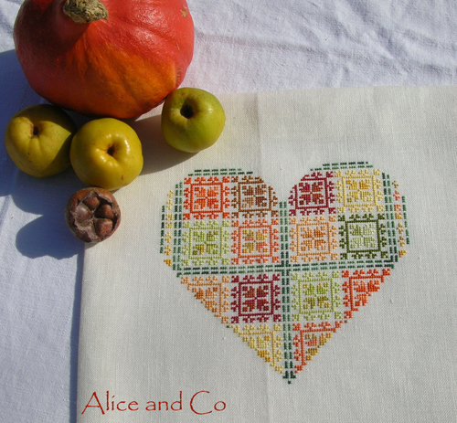 Coeur patch 10