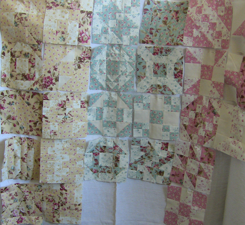 Farmers wife quilt pieces 1