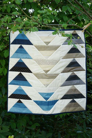 Quilt flying geese mini