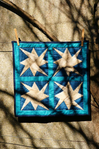 Quilt starry path mini