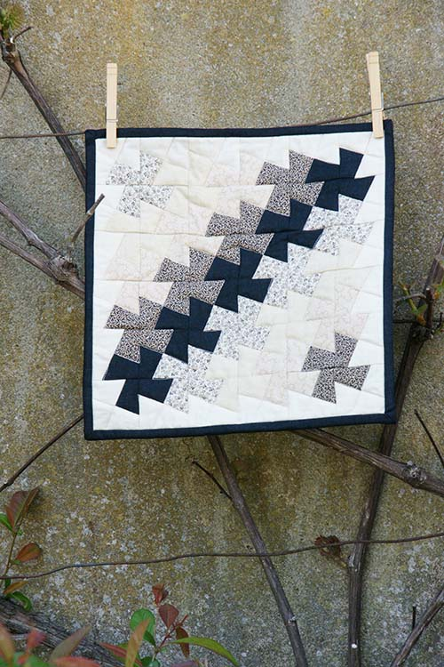 Windmill mini quilt