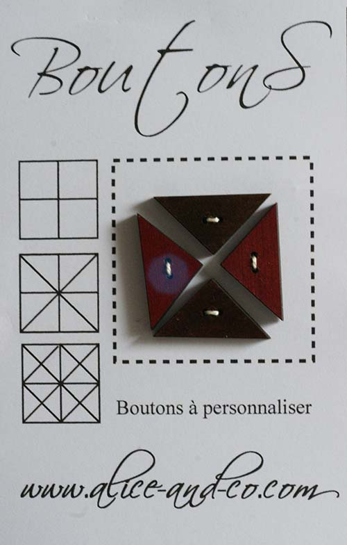 Bouton rouge 5
